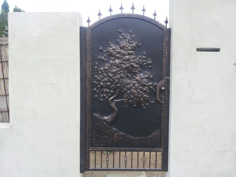 Helius.sk - kovaná brána plná - R1