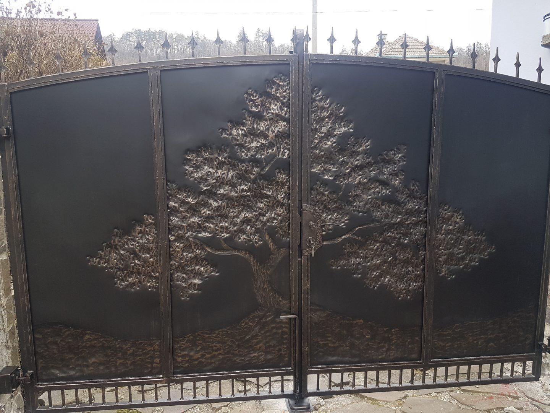Helius.sk - kovaná brána plná - R48